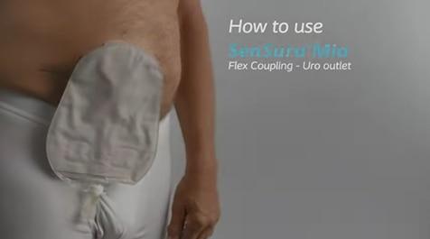 How-to-use a 2-piece, urostomy bag