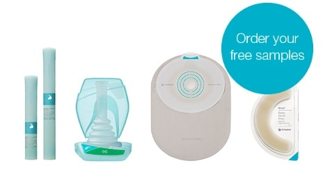 Free ostomy and continence product samples