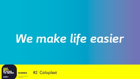Coloplast acceptance video after being awarded one of the best places to work in Australia