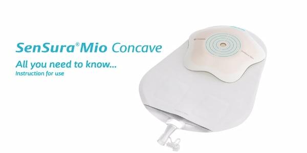 SenSura® Mio Concave 1-piece urostomy pouch