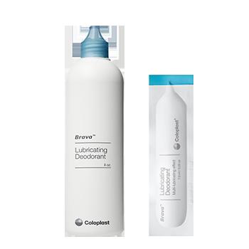 Receive a FREE Sample of Brava® Lubricating Deodorant